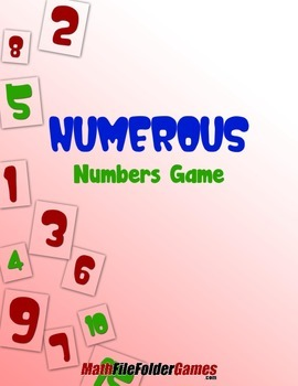 Numerous Numbers Game {Place Value Game}
