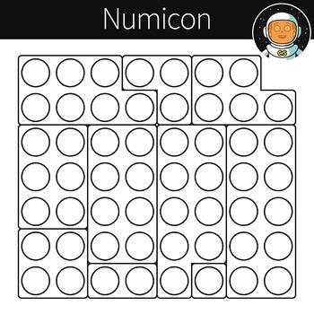 Numicon Clipart