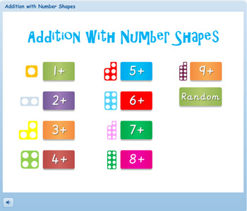Numicon Addition Program with Instant Feedback