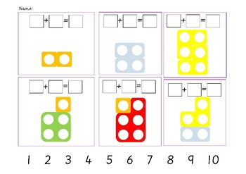 Numicon Worksheets & Teaching Resources | Teachers Pay Teachers