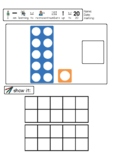Number shape Count and Colour 10-20   Year 1 Maths   Ten frames