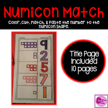 Numicon Match 1-10