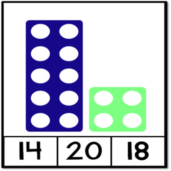 Numicon Number Cards