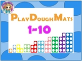Numicon Play Dough Mat 1 to 10