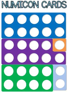 Numicon cards