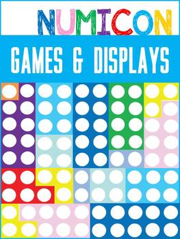 Numicon games / friends of ten / doubles / number facts /