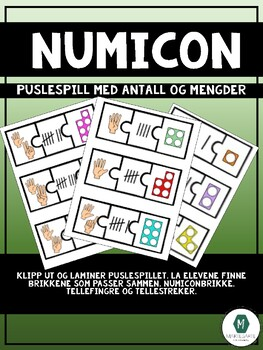 Numicon - puslespill