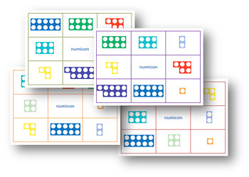 Numicon resource pack; activities, games, display, clipart etc