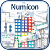Resources to use alongside numicon; activities, games, display, clipart etc