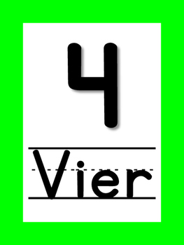 Nummers 1 to 10 (dutch)