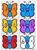 Numéros de Papillon - Numerals, Number Words, Tally Marks & Ten Frames