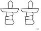 Nunavut Flag Cut & Glue Craft