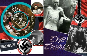 Nuremberg Trials - Mass Murders by Nazis - War Crimes Law - FREE POSTER