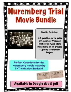 Nuremberg Trial Mini Series Movie Bundle