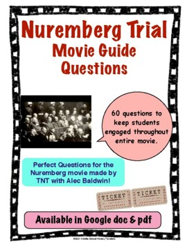 Nuremberg Trial Mini Series Movie Guide Questions