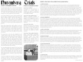 Nuremberg Trials & Milgram Experiment