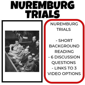 Nuremberg Trials Lesson