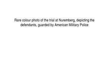 Nuremberg War Crimes Trial Starter