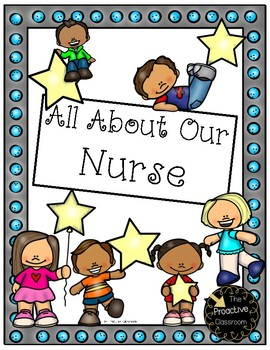 Nurse Appreciation All About My Nurse Book