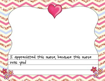 Nurse Appreciation Book