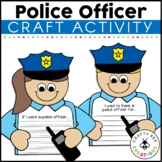 Community Helper Craft | Police Officer Craft | Career Day | Writing Activity