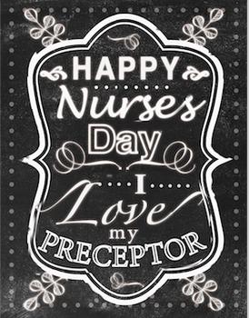 Nurse Day Art - Preceptor