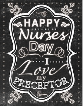 Nurse Day Art - Preceptor