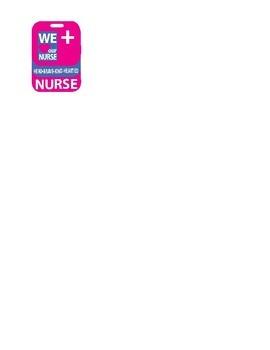 Nurse Day Nurse Scrubs Appreciation Card