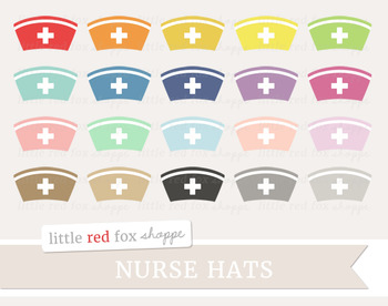 Nurse Hat Clipart; Medical, Doctor, Hospital