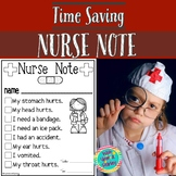 Nurse Note Form