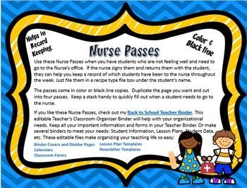 Nurse Pass Free
