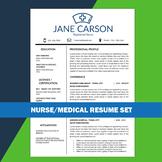 Nurse Resume, School Nurse, Medical Resume, Nursing CV, He