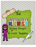 Nurse Week {Writing Prompts & Class Book Cover}