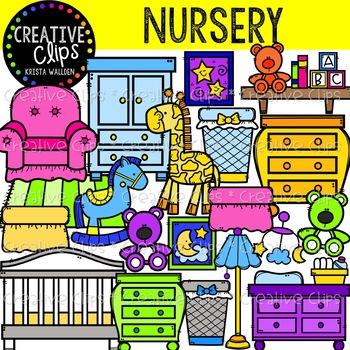 Nursery Clipart {Creative Clips Clipart}