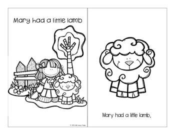 Nursery Rhymes: Mary Had a Little Lamb