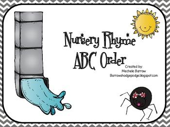 Nursery Rhyme ABC Order