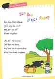 Nursery Rhyme Activities : Baa Baa Black Sheep *Printables