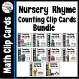 Nursery Rhyme  Activities (Counting Clip Cards 1-20) Bundle