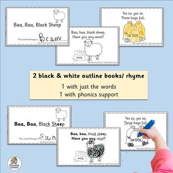 Nursery Rhymes Emergent Readers (SASSOON)