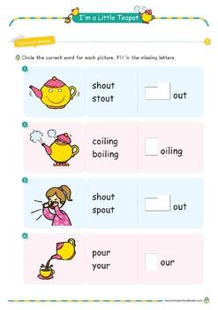 Nursery Rhyme Activities : I'm a little teapot *Printables