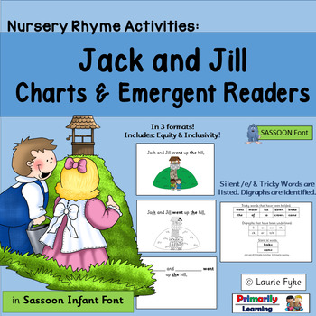 Jack & Jill EMERGENT READERS complement programs like Jolly Phonics (SASSOON)