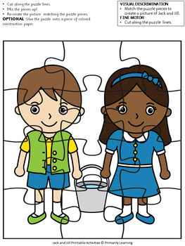 Nursery Rhymes: Jack & Jill Puzzles (SASSOON)