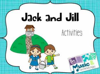 Nursery Rhyme Activities- Jack and Jill