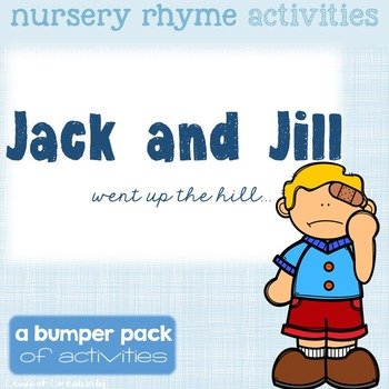 Nursery Rhyme Activities - Jack and Jill
