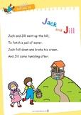 Nursery Rhyme Activities :  Jack and Jill *Printables