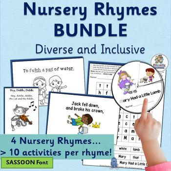 Nursery Rhyme Activities MEGA-BUNDLE (SASSOON)