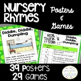 Nursery Rhyme Activities: Posters & Comprehension Question
