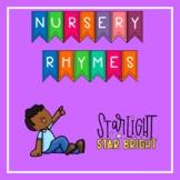 Nursery Rhyme Activities:  Star Light, Star Bright Distance Learning
