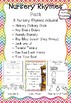 Nursery Rhyme Activity Pack