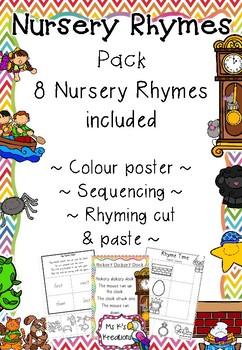 Nursery Rhyme Activity Pack